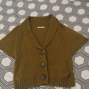 Old Navy Olive Green Sweater Cardigan